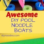 POOL NOODLE BOATS PIN