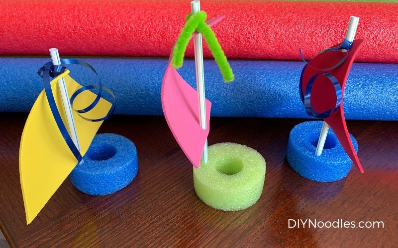 Pool Noodle boats craft