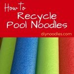 Recycle pool noodles pin
