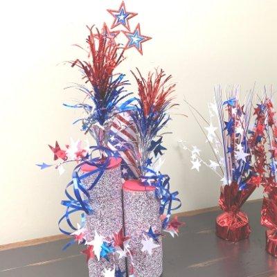 Fireworks centerpiece