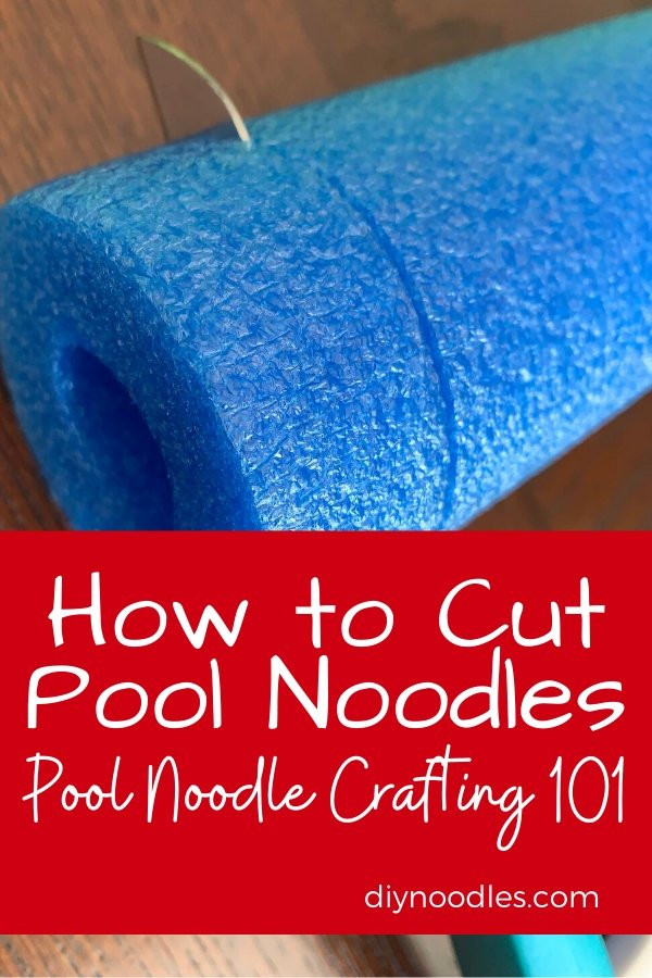 How To Cut Pool Noodles For Crafting Diy Noodles