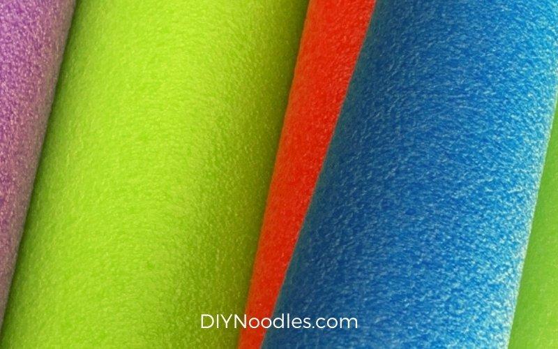 pool noodle closeup