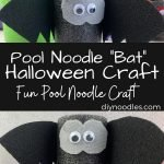 pool noodle bat craft
