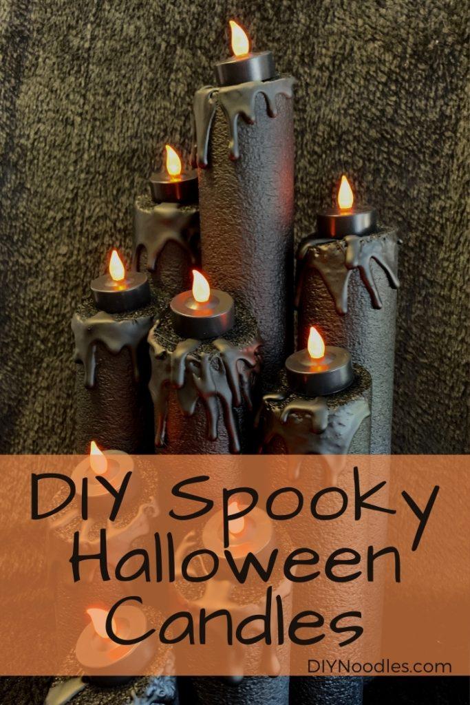 halloween candles diy