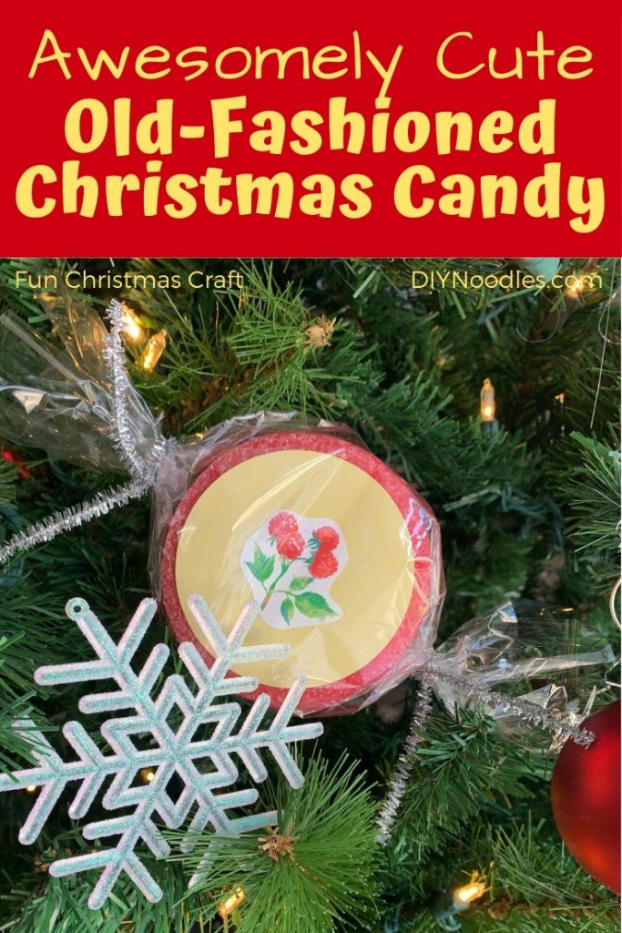 Christmas candy craft