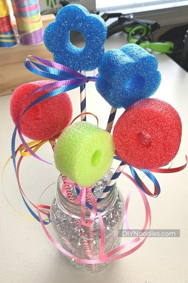 DIY Bubble wands