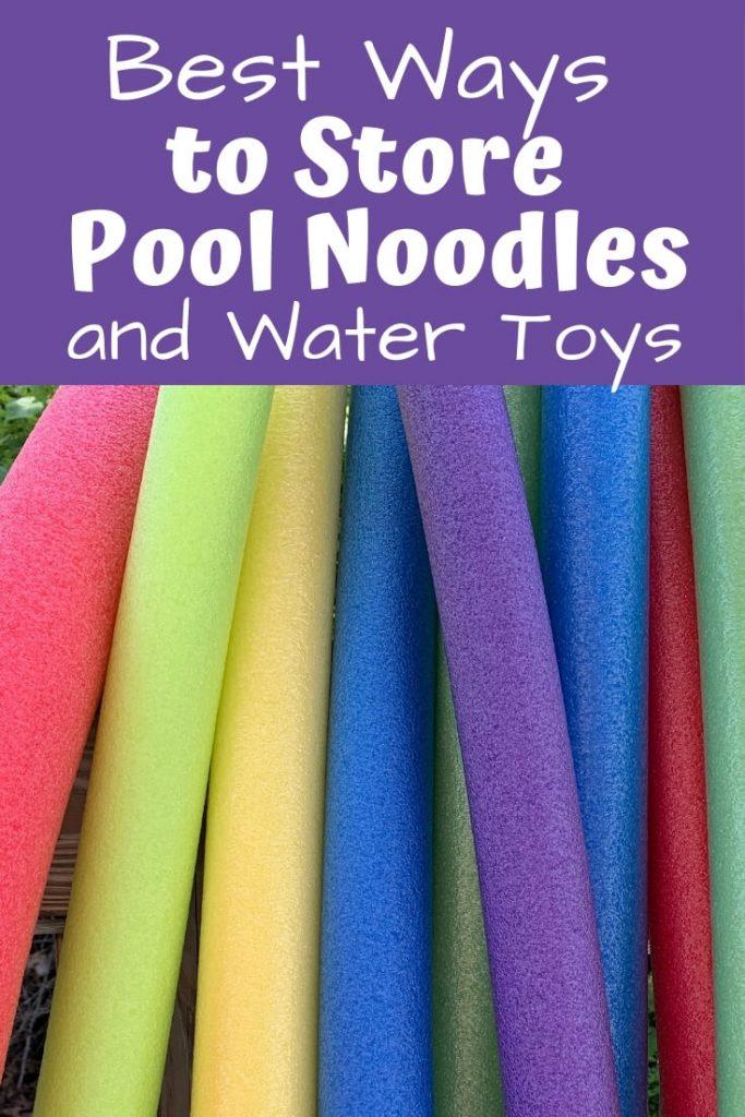 pool noodles